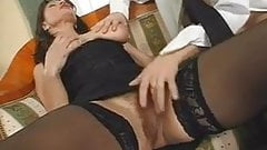 Big tits mature hairy fucks