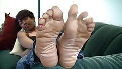 sweet ebony feet