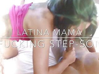 Big mama fucks daughters boyfreind - Latina mama fucks her step-son. milf