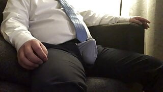 chinese daddy handjob 01