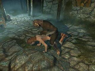 Lesbians in peril Perils of escaped skyrim slavegirl 14