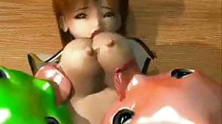 Jiggly Boobs Licked