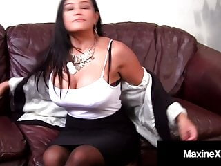 Strict asian mommy Asian mommy maxine-x ass fucked by big black cock