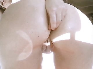 Nude housewife home alone Housewife getting dirty when home alone