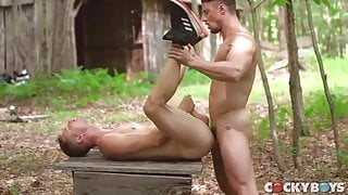 Fuck and Breeding in the woods