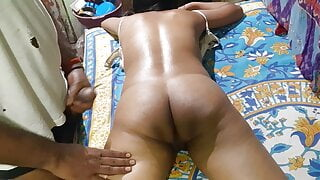 Puja ne full body massage curvy Apne yaar se hot figure girl
