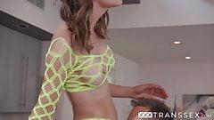Cute TS Babe Korra Del Rio anal fucked by Joel Someone