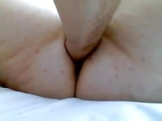 Hidden unusual object masturbation Pleasure with an unusual dildo