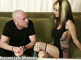 Cock masseuse video Fantasy massage masseuse milking cock with her deepthroa