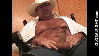 Cowboy Musclebear Daddy jackoff