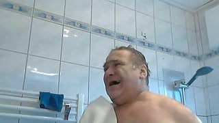 Shower time for daddy