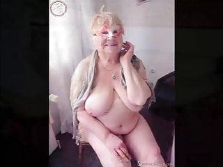 Naked grandmas italien fat Omageil grandmas captured naked in compilation