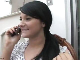 Telephone cumshot Upskirt au telephone