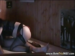 Lingerie chubby - Chubby asian milf in lingerie and stockings riding cock
