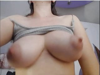 Wet breasts examine wound Lactating milky breasts hairy wet pussy masturbation, squirting