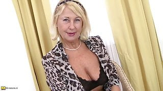 Perfect sexy granny needs a good fuck