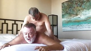 Bearded Mature Polardaddies In Bed: Intense BB With KISSING