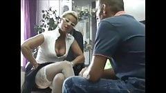 Dirty Slutwife seduces young boy