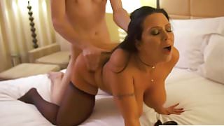 hot mom teach young boy how to fuck doggy