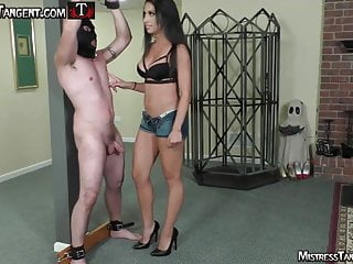 Femdom slave auctions - Mistress tangent punches tramples humiliates femdom slave