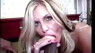 Omar and his mate fuck a gorgeous classy blonde
