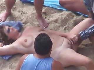 Mature beach video - Mature beach play.avi