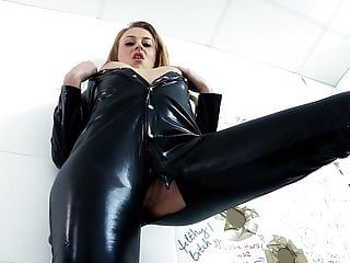 Hottest girl getting fucked Hottest latex girl gets brutally fucked by big cock