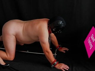 Sissy slut training humiliation yourself - Mistress restrains and trains her femdom sissy slave