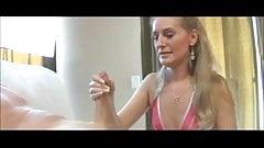 Mother Jerks Off Daughter's Boyfriend