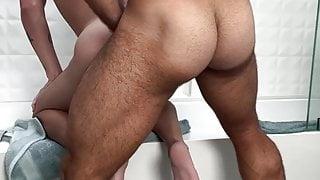 Diego Sans bathroom fuck