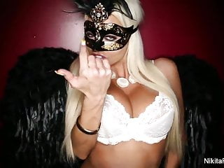 Adult costumes with wings - Hot girls with wings tease then fuck each other
