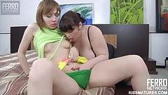 BBW Carolina lesbian sex
