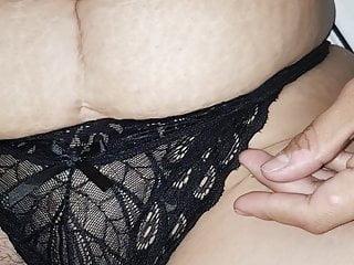 Mature hairy panty orgasm masturbating Dedeada con su pantie puesta