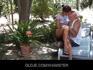 Sexy video young Sexy angel rivas sucks 2 old cocks and then get ass fuck