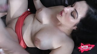 Hard rough Fuck with Elina and her young Fucker!!