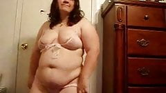 Fat BBW ex GF with big tits love showing her body on cam