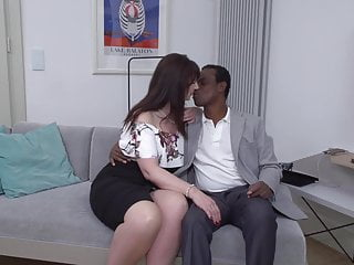 Vintage tea chests Tea time turns into interracial sex with mature mom