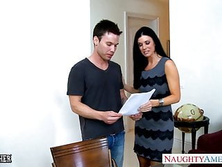 India nude video Stockinged india summer gets facialized