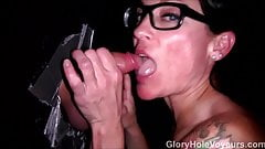 Straight Glory Hole