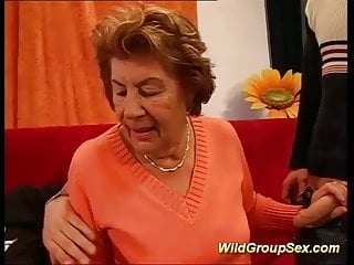 Mature grandma gangbangs - My grandmas first gangbang