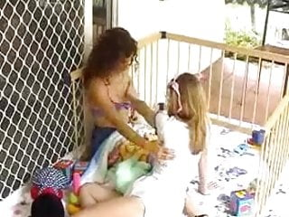 Breast feeding homemade movies - Felicity and lola breast feeding