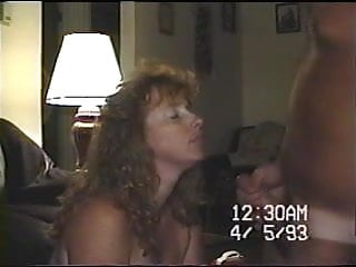 Redhead por movies - Old vhs movie cumming all over wifes face