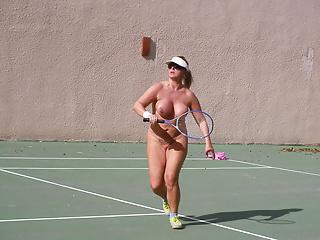 Tennis girl nackt