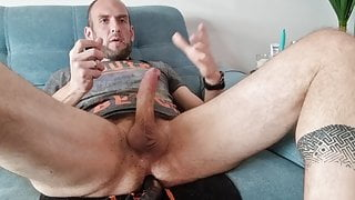 Edging on a poppers trainer video