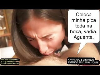 Teen painful anal crys srying screaming - Anal from brazil. pain, cry.
