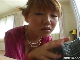 Rimu himeno anal Hot teen momo himeno gives a stunning blowjob