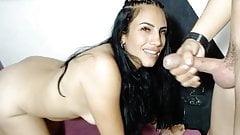 Long facefucking time with latina bitch