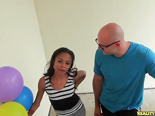 Balloon inflate breast - Realitykings - 8th street latinas - boobs and balloons