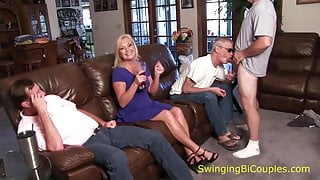 Daddy SUCKS a DICK and SWALLOWS