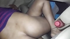 Desi Hubby letting a stranger fuck the Slutwife in their car